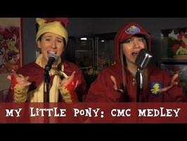 The Evolution of the Cutie Mark Crusaders (MLP) - Michelle Creber (feat. Claire Corlett)