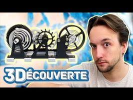 Mécanisme d'HORLOGE 100% IMPRIMÉ en 3D !! FOUUUU et magnifique !! [3DCouverte]