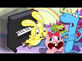 HAPPY TREE FRIENDS THEME SONG - Piano Tutorial