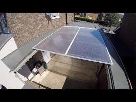 Motorised Retractable Roof Project (super villain style)