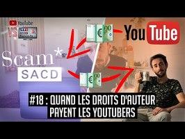 YouTube VS la télé #18 : Comment les youtubers touchent des droits d'auteur ?
