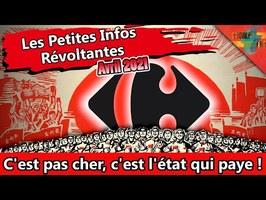 [Le PIRE d'Avril] – L'État va payer 8000 travailleurs gratuits à Carrefour.