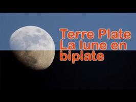 TERRE PLATE - La lune en biplate
