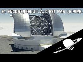🪐TOP 20 des plus gros télescopes