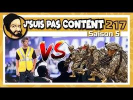 J'SUIS PAS CONTENT ! #217 : Gilets Jaunes VS Armée, République en danger ?