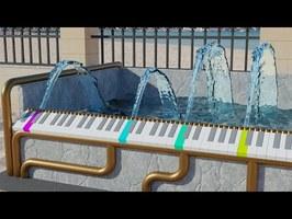 The Piano Fountain - Wellerman (Sea Shanty)