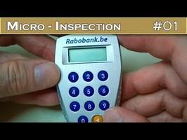 Micro INSPECTION 01 : Décorticage d'un digipass bancaire sécurisé