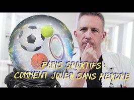 PARIS SPORTIFS : COMMENT JOUER SANS PERDRE
