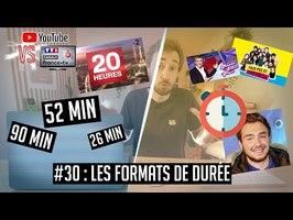 YouTube VS la télé #30 : pourquoi les émissions ont toutes la même durée ?