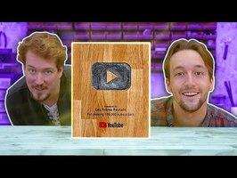 Ces TROPHÉES YouTube sont UNIQUES !!! 3 nuances de DIY et 100 000 Mercis