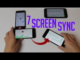 Synchronized Screen Juggling (Hand Reveal)