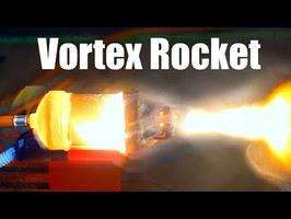 Vortex Cooled Ceramic Rocket Engine (3D Printed)