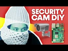 Recycle Webcam + Raspberry Pi et fabrique un système vidéo surveillance [Chmaude77 - EP01]