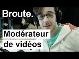 Son métier : regarder des vidéos choquantes ! - Broute - CANAL+