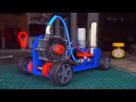 Rotary Wankel RC Car (3D Printed)