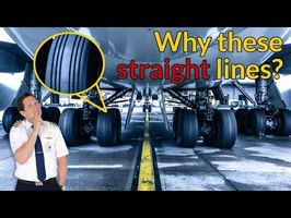 WHY do AIRPLANE TIRES have a STRAIGHT LINE PROFILE??? Explained by CAPTAIN JOE