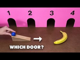 Which Door Will The Ball Hit? | Joseph's Puzzle Machines