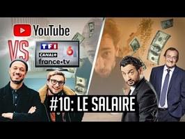 YouTube VS la télé #10 - Le salaire des présentateurs et des youtubeurs