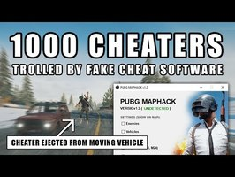 PUBG Cheaters trolled by fake cheat software