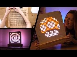 Une Magnifique Lampe Pixel Personnalisable !