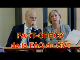 1 AESH RÉPONDS À LA FAQ DU GVT (je fact-check un ministre)