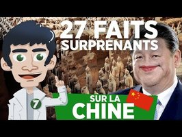 27 FAITS SURPRENANTS SUR LA CHINE !!