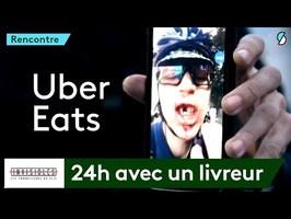 Voici ce qu'implique une commande Uber Eats - Invisibles #1
