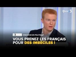 Retraites : Vous prenez les Français pour des imbéciles ! | Adrien Quatennens
