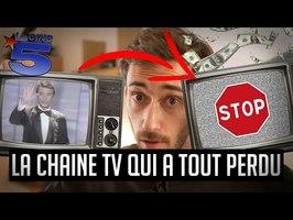 La 1ère chaine TV française à mourir en direct (La 5) - Une dose de curiosité #4