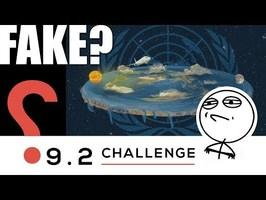 ❓FLAT EARTH CHALLENGE: le défi - Fake? 9.2