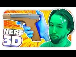 Un PISTOLET NERF imprimé en 3D !!