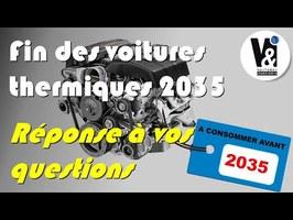 2035, FIN DES MOTEURS THERMIQUES : PASSER A L'ELECTRIQUE DES MAINTENANT OU PAS?