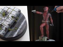 Making Deadpool with 3D Pen | Fan Art Sculpture