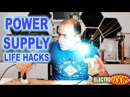Power Supplies and Electronic Life-Hacks (ElectroBOOM101 – 009)