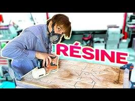 PC GAMER/CRÉATIF en RÉSINE et BOIS !! SUR UN MUR !!! WallMod DeskMod DIY [EP01]