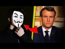 MACRON VEUT INTERDIRE L'ANONYMAT ??