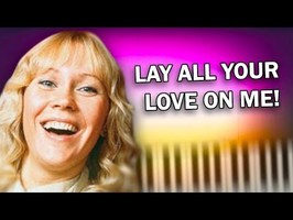 ABBA - Lay All Your Love on Me - Piano Tutorial
