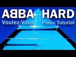 ABBA - Voulez-Vous - Piano Tutorial