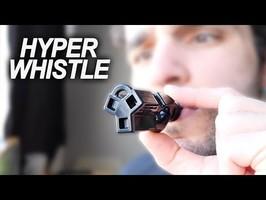 VOICI LE SIFFLET LE PLUS PUISSANT DU MONDE ! (attention) Hyper Whistle