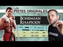 J'ai retrouvé les pistes originales de BOHEMIAN RHAPSODY, et c'est très stylé 😎
