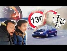 Passer la 1ère à 130km/h : ÇA FAIT QUOI ?