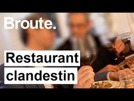 Immersion au coeur d'un restaurant clandestin ! - Broute - CANAL+