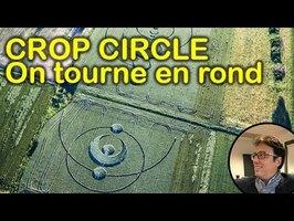 Crop Circle de St Hippolyte. Coup dur pour Silvano
