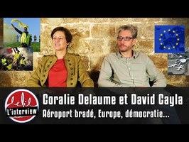 AÉROPORTS BRADÉS, U.E ANTIDÉMOCRATIQUE ? Coralie Delaume & David Cayla