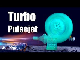 TurboCharged PulseJet Engine (3D Printed)