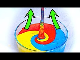 How to make fluid climb up! AMAZING SLIME EXPERIMENT!