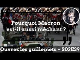 Usul. Pourquoi Macron est-il aussi méchant ?