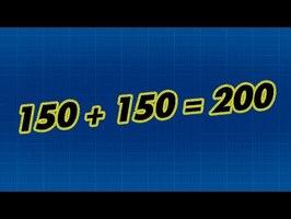 150 + 150 = 200