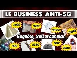 Le business anti-ondes : ENQUÊTE et CANULAR
