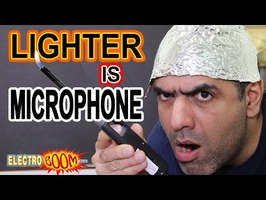 LIGHTER is a MICROPHONE